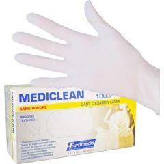 Латексови ръкавици Кутия Размер S 100 бр Uromedis