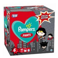 Пелени-гащички Pampers Pants Special Edition Warner Bros Размер 6 S 60 бр Procter & Gamble