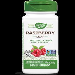 Nature's Way Raspberry Leaf Лист от малина за здрава женска репродуктивна система 450 мг х100 V капсули