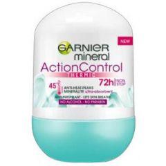 Garnier Mineral Action Control Thermic 72h Рол-он против изпотяване за жени 50 мл