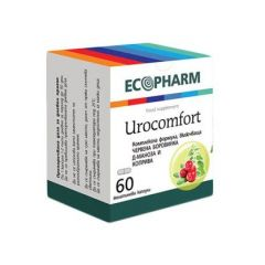 Urocomfort За здрави пикочни пътища x60 капсули Ecopharm