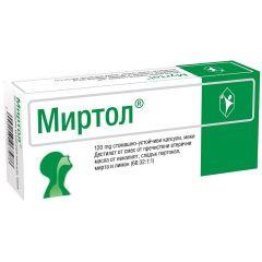 Миртол 120 мг х 20 капсули Phoenix