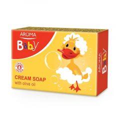 Aroma Baby Бебешки крем сапун с масло от маслина 75 гр