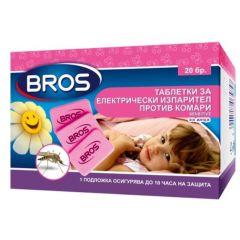Bros Sensitive Таблетки за електрически изпарител против комари за деца 20 бр