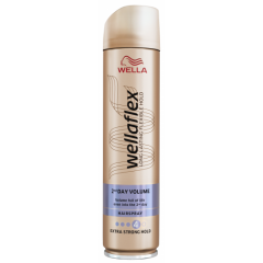 Wella Wellaflex 2 Days Volume Лак за коса за обем със силна фиксация 4 250 мл Procter&Gamble