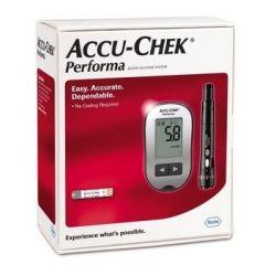 Accu-Chek Performa Глюкомер за кръвна захар + Accu-Chek Performa Тест-ленти за кръвна захар 10 бр Roche Diagnostics Комплект