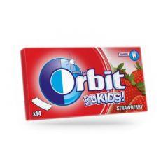 Orbit For Kids Strawberry Дъвки за деца х14 мини ленти