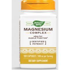 Nature's Way Magnesium Complex Магнезий комплекс за здрави кости, зъби и мускули 250 мг 100 капсули