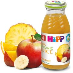 HiPP Био сок мултивитамин 4М+ 200 мл