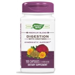 Nature's Way Digestion with Enzymes Храносмилателни ензими 100 капсули