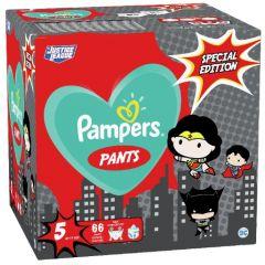Пелени-гащички Pampers Pants Special Edition Warner Bros Размер 5 S 66 бр Procter & Gamble