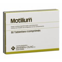 Motilium 10 мг 30 таблетки Janssen