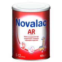 Novalac AR Мляко за кърмачета при регургитация от 0 до 12 месеца 400 гр Medis
