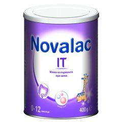 Novalac IT Мляко за кърмачета при запек от 0 до 12 месеца 400 гр  Medis