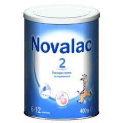 Novalac 2 Преходно мляко за кърмачета от 6 до 12 месеца 400 гр Medis