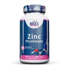 Haya Labs Zinc Picolinate за имунната система 30 мг х60 таблетки