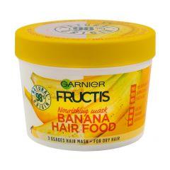 Garnier Fructis Banana Hair Food Подхранваща маска с екстракт от банан за суха коса 390 мл