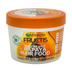 Garnier Fructis Papaya Hair Food Възстановяваща маска с папая за увредена коса 390 мл