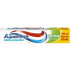 Aquafresh Triple Protection Herbal паста за зъби 125 мл