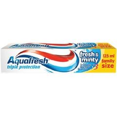 Aquafresh Triple Protection Fresh & Minty паста за зъби синя 125 мл