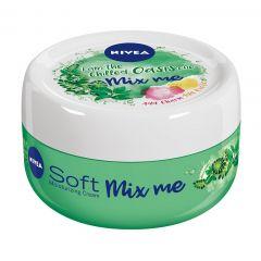 Nivea Creme Soft Mix Me Oasis Хидратиращ универсален крем за лице, ръце и тяло 100 мл