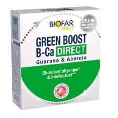 Biofar Green Boost B-Ca Direct Физически и интелектуален стимулант 14 сашета