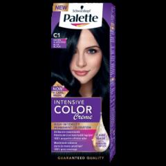 Palette Intensive Color Creme Tрайна крем-боя за коса C1 Blue Black / Синьо-черен