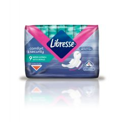 Libresse Maxi Long+ Дамски превръзки 9 бр