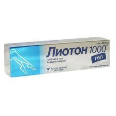 Лиотон 1000 Гел 50 гр Berlin-Chemie