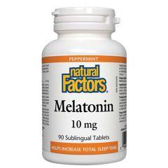Natural Factors Melatonin Мелатонин при безсъние 10 мг х 90 таблетки