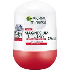 Garnier Magnesium Ultra Dry 72h Рол-он против изпотяване за жени 50 мл