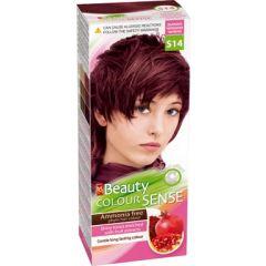 MM Beauty Colour Sense Трайна фито боя за коса без амоняк, S14 Дълбоко черешово червено