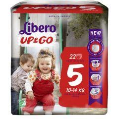 Пелени - гащички Libero Up&Go Размер 5 22 бр