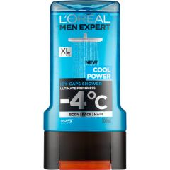 L'Oreal Men Expert Cool Power Душ-гел за мъже с охлаждащ ефект 300 мл