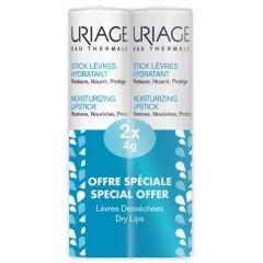 Uriage Eau Thermale Възстановяващ овлажняващ стик за устни 2 х 4 гр Комплект