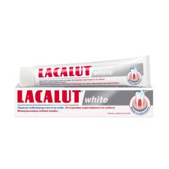 Lacalut White паста за зъби избелваща 75 мл