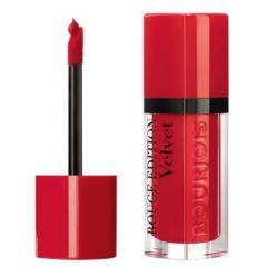 Bourjois Rouge Edition Velvet Lipstick Дълготрайно матиращо течно червило N03 Hot Pepper 7,7 мл