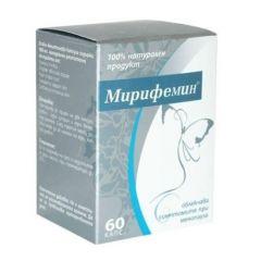 Мирифемин при менопауза 25 мг 60 капсули Onius trade