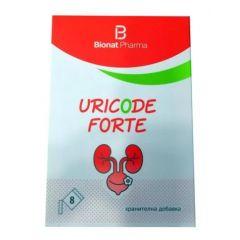Uricode Forte За здравето на уринарния тракт 8 сашета Bionat Pharma