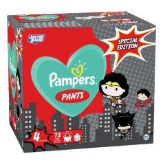 Пелени-гащички Pampers Pants Special Edition Warner Bros Размер 4 S 72 бр Procter & Gamble