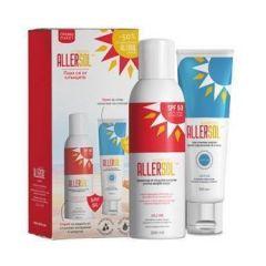 Allersol Слънцезащитен спрей SPF 50 200 мл + Allersol Слънцезащитен крем SPF 30 100 мл Naturpharma Комплект