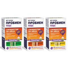 Fortex Пробиен Kидс синбиотик за деца 20 таблетки за дъвчене + Светлоотразителна лента Комплект