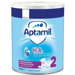 Aptamil HA 2 Адаптирано мляко при алергии 6-12 месеца 400 гр