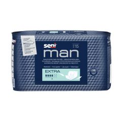 Seni Man Extra Урологични подложки за мъже 4 капки х 15 бр
