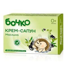 Бочко Крем-сапун Маслина 0+ 75 гр