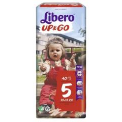 Пелените - гащички Libero Up&Go Размер 5 Jumbo 40 бр