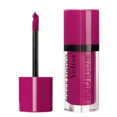 Bourjois Rouge Edition Velvet Lipstick Дълготрайно матиращо течно червило N06 Pink pong 7,7 мл