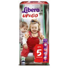 Пелените - гащички Libero Up&Go Размер 5 Jumbo 42 бр