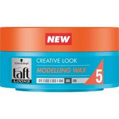 Taft Looks Creative Вакса за коса за екстра силна фиксация 75 мл