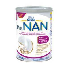 Nestle PreNAN Етап 2 Диетична храна за недоносени и родени с ниско тегло бебета Метална кутия 400 гр